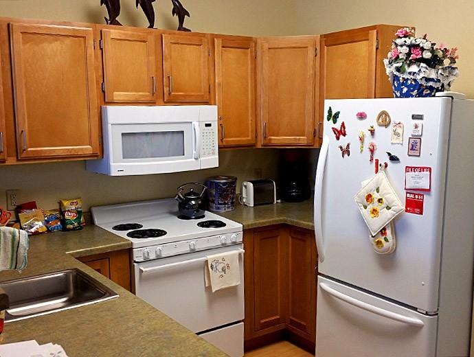 A photo of a kitchen at Good Samaritan Society.