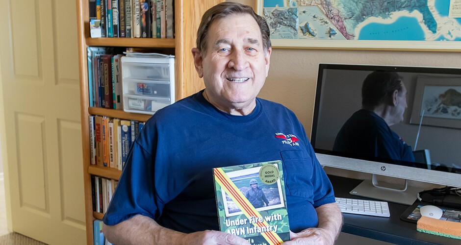 Veteran living at Good Samaritan Society wins literary award