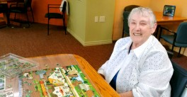Ruth Pruitt loves puzzles.