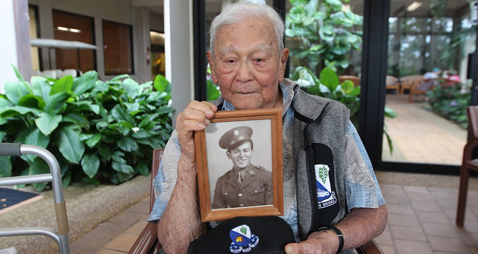 WWII veteran a cherished resident at Good Samaritan Society