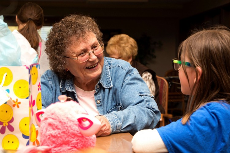 Pen pals: Fostering friendships across generations